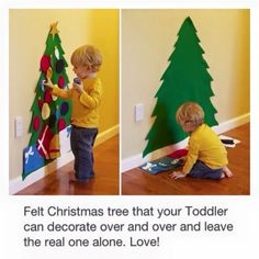 An awesome Christmas idea with a toddler!!