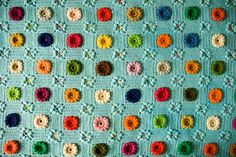 Very beautiful blanket #crochet