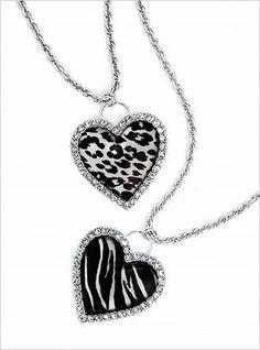Animal Print Necklaces