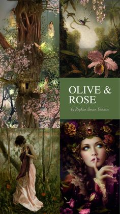 Ladies.. We are changing things up.. Please hand off a collage or a palette when you are done.This is for the next pinner. Thank you. '' Olive & Rose '' by Reyhan Seran Dursun
