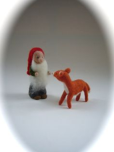 Hey, I found this really awesome Etsy listing at https://www.etsy.com/listing/102565506/tomten-and-fox-hand-felted-wet-felted