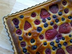 Berry and Almond Tart {Gluten-Free, Vegan}