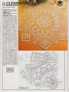 Crochet Lamp, Crochet Dollies, Crochet Tablecloth, Love Crochet, Knit Crochet, Crochet Square Patterns, Crochet Doily Patterns, Knitting Patterns, Dream Catcher Mandala