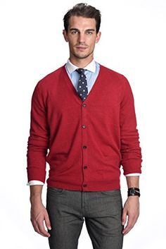 Product review for State Cashmere Men's 100% Pure Cashmere Button Front Long Sleeve Cardigan Sweater.  State Cashmere lines are known for their first class quality, superior craftsmanship and evolving designs. Each of our luxurious cashmere products is knitted from the finniest Inner Mongolian cashmere, ultra soft and cozy for every stylish individual. With more than 20 years of experience in...