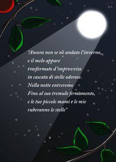 """Illustrazione di versi tratti dalla poesia """"Il ramo rubato"""" di Pablo Neruda. Mano libera su tavola digitale, di Matteo Tirimagni. (2)"""