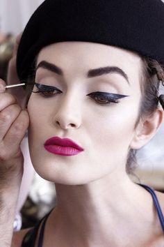 #eyeliner #pinklips