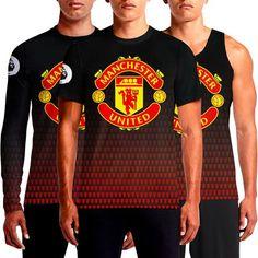 Buy Manchester United T-Shirt India Devil Red Man Utd T-Shirts Online Custom Graphic Design Devils Full Sleeve Shirt For Sale Shopping Black Crest Football Fc Fans Printed Jersey Logo Latest New Men's Round Neck T Shirts OSOM