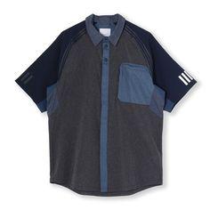 【adidas Originals by White Mountaineering】 シャツ [WM SSL SHIRT] ウェア アパレル Tシャツ ポロシャツ [AO0862]|アディダス オンラインショップ -adidas 公式サイト-