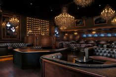 Cake Nightclub, which opened in February in Old Town Scottsdale, blends baroque-era decor with modern technology such as a Funktion One Soun... Photo: Ryan Forbes/Avablu