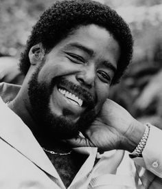 Barry White was an American composer and singer-songwriter.  A two-time Grammy Award-winner known for his distinctive bass voice and romantic image,