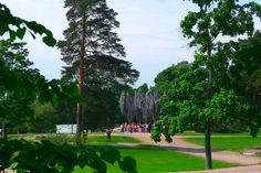 Eila Hiltunen: Sibelius-monumentti, 1967, Sibeliuksen puisto