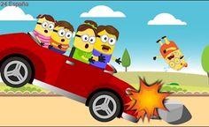 Minions Banana Daddy Car Crashing & Minions Baby Hurts Crying Full Episodes! Finger Family Song