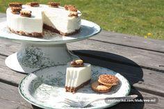 Cheesecake sa moto keks i belom cokoladom — Coolinarika(20cm )