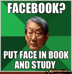 dos equis study meme | facebook asian dad
