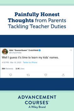 Painfully Honest Thoughts from Parents Tackling Teacher Duties Best Tweets, Parents As Teachers, Teacher Humor, Better One, Homeschooling, Children, Kids, Laughter, Parenting