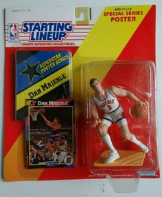 SLU 1992  HAKEEM OLAJUWON Houston Rockets Starting Lineup Figurine