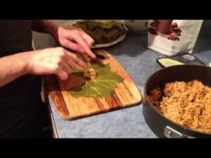 Vegetarian Stuffed Grape Leaves Recipe