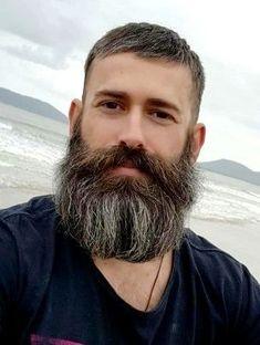 Finding The Best Short Haircuts For Men Beard And Mustache Styles, Beard Styles For Men, Beard No Mustache, Hair And Beard Styles, Great Beards, Awesome Beards, Walrus Mustache, Bad Boy, Epic Beard