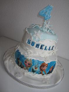Frozen Torte für Sorelle