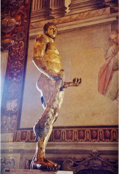 Roman Colossal Gilt Bronze Hercules, Palazzo dei Conservatori, Roma