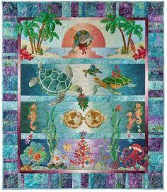 Quilt Pattern - McKenna Ryan - Tropical Noel Laser Cut Kit - Special Order