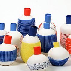 Original and colorful ceramics from L'Atelier des Garcons.