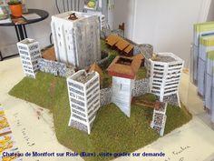 TOUCH cette image: Chateau de Montfort sur Risle by Association Montfort Culture et Patrimoine Chateau Médiéval Normandie