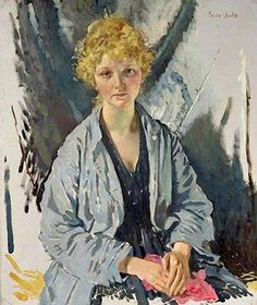 The Spy or The Refugee,  1918, by William Orpen (Irish, 1878-1931)