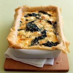 Découvrez la recette Quiche aux épinards et à la feta sur cuisineactuelle.fr.