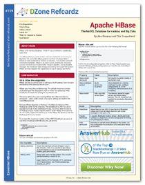 HBase Refcard