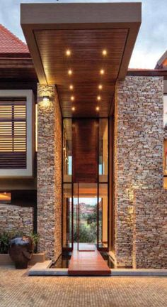 New Exterior Architecture Facade Entrance Ideas Amazing Architecture, Interior Architecture, House Entrance, Modern Entrance, Modern Entryway, Entrance Design, Entryway Ideas, Grand Entrance, Modern House Design