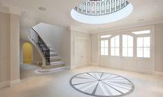 Atrium hallway entrance by Macassar Properties - London investment and development company