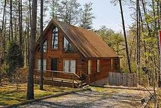 Pigeon Forge, TN: Pigeon Forge chalet rentals: Sugar Bear, White Oak Estates Chalet 369 is a 1 bedroom, 2 bath log cabin located about 5 miles from downtown Pigeon Forg... Vacation Rental
