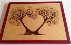 Tree place mat, I love this design!