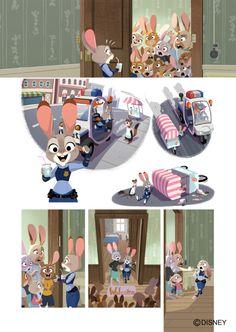 Gurihiru — A few interior art for the Graphic Novel of...