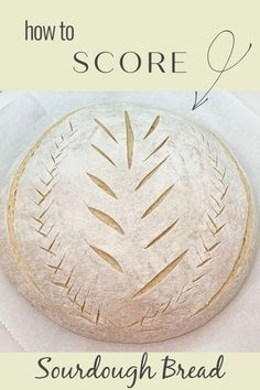 Learn how to score your sourdough! Easy design patterns and ideas, tools you need, how to hold the blade, where to cut. I have multiple videos in my Sourdough Video Tutorial Gallery. This link is for 4 quick loaves, check my video gallery for more! Hope to see you soon for scores, starters, recipes and more! Sourdough Starter Discard Recipe, Sourdough Recipes, Cornbread Recipes, Jiffy Cornbread, Bread Art, Easy Bread, Bread And Pastries, Ciabatta, Artisan Bread