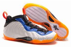 http://www.airfoamposite.com/nike-air-foamposite-one-white-blue-orange.html NIKE AIR FOAMPOSITE ONE WHITE BLUE ORANGE Only $72.00 , Free Shipping!