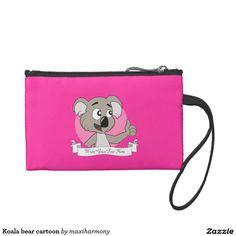 Koala bear cartoon coin purses