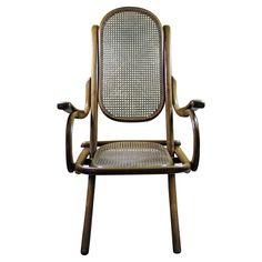 Folding Deck Chair, Austria, circa 1880 | From a unique collection of antique and modern lounge chairs at https://www.1stdibs.com/furniture/seating/lounge-chairs/