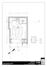 K O Z M A Z S U Z S A N N A építész: Zalaegerszeg, Teskánd, Családi ház tanulmány terve Floor Plans, Diagram, Houses, Architecture, Modern, Homes, Floor Plan Drawing, Home, At Home