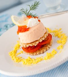 Salmon Mousse Appetizer