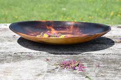 Wabi Sabi Maple Bowl With Shou Sugi Ban Finish. by AdzeWoodcraft