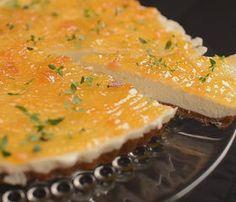 Peach Cheesecake - Video Recipe