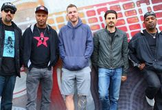 Prophets of Rage Plot RNC Convention Takeover in Cleveland Rage, Rnc Convention, Alternative Music, Political News, Watch V, Cleveland, Music Videos, Bomber Jacket, Singer
