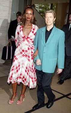 Pin for Later: David Bowie and Iman: A Look Back at One of the Greatest Romances of All Time 2003