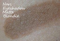 NARS Blondie eyeshadow swatch