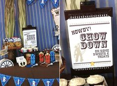 Cute ideas - I'd have to do a cowgirl party, of course.  :)