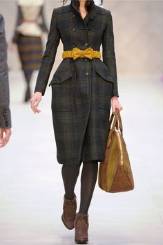 Burberry Prorsum | Checked wool-blend trench coat | NET-A-PORTER.COM