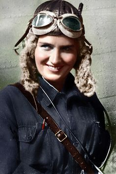 Captain Marina Raskova, Soviet Pilot and Navigator, one of the first women, awarded Hero of Soviet Union (1912-1943)