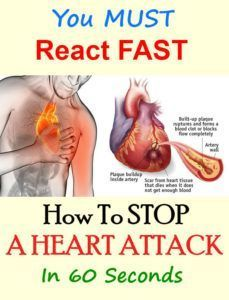 How To Stop A Heart  Attack!